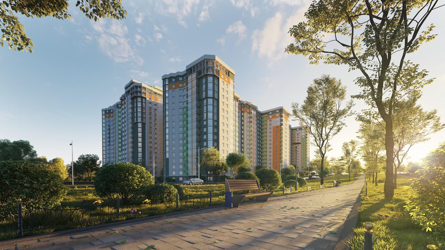 Современные жилые комплексы